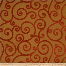Jaclyn Smith Apsley Chenille Jacquard Tobasco
