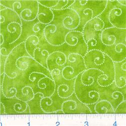 Moda Marble Swirls (9908-44) Lime Fabric