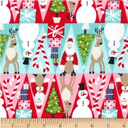 Michael Miller Holiday Row Holiday Row Multi
