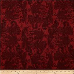 108'' Wide Essentials Quilt Backing Marrakesh Red Fabric