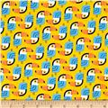 Kaufman Little Senoritas Toucans Yellow