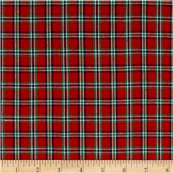 Yarn Dyed Basic Plaid Red/Green