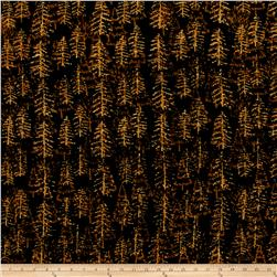 Island Batik Trees Walnut