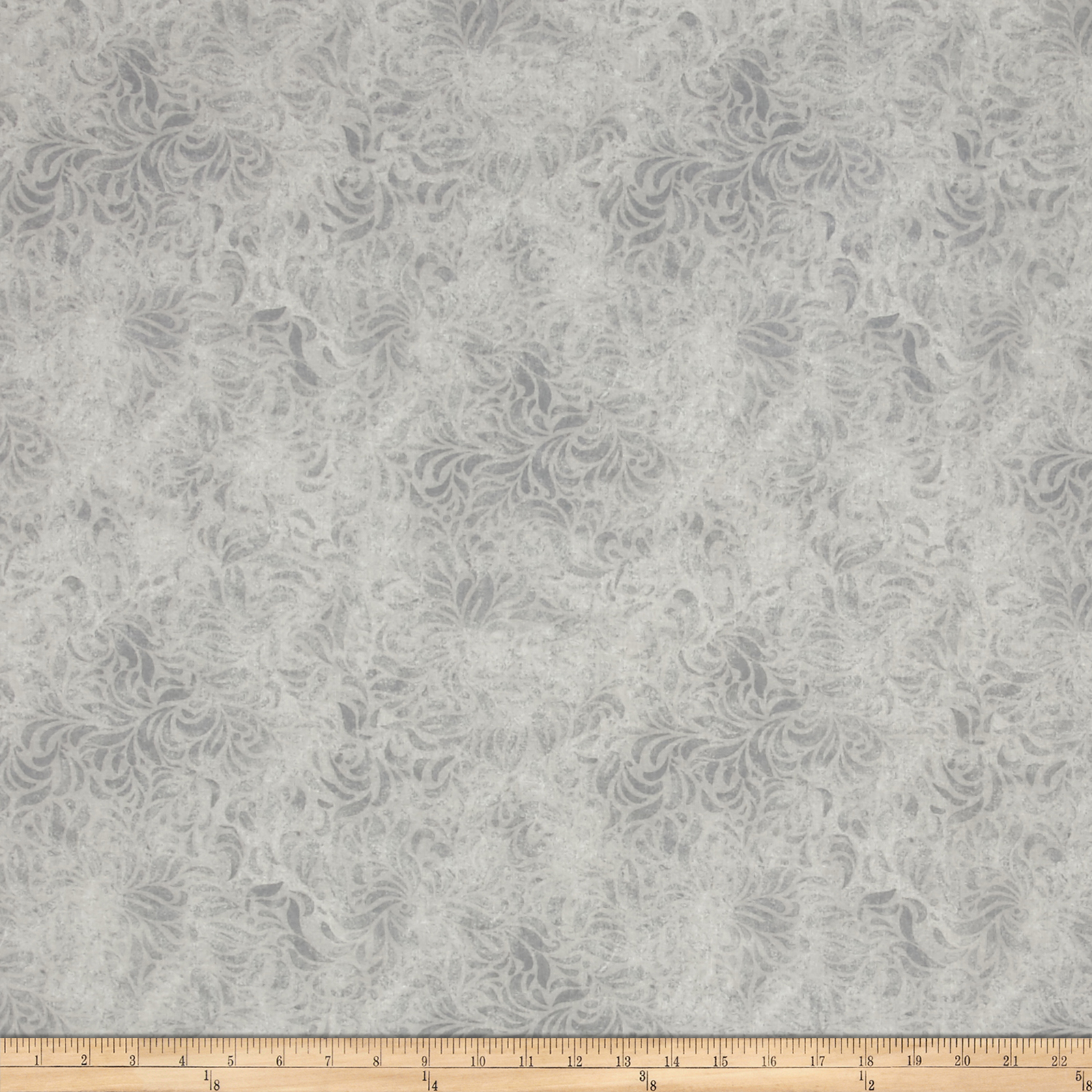 110'' Wide Quilt Back Bella Suede Grey Fabric by P & B in USA