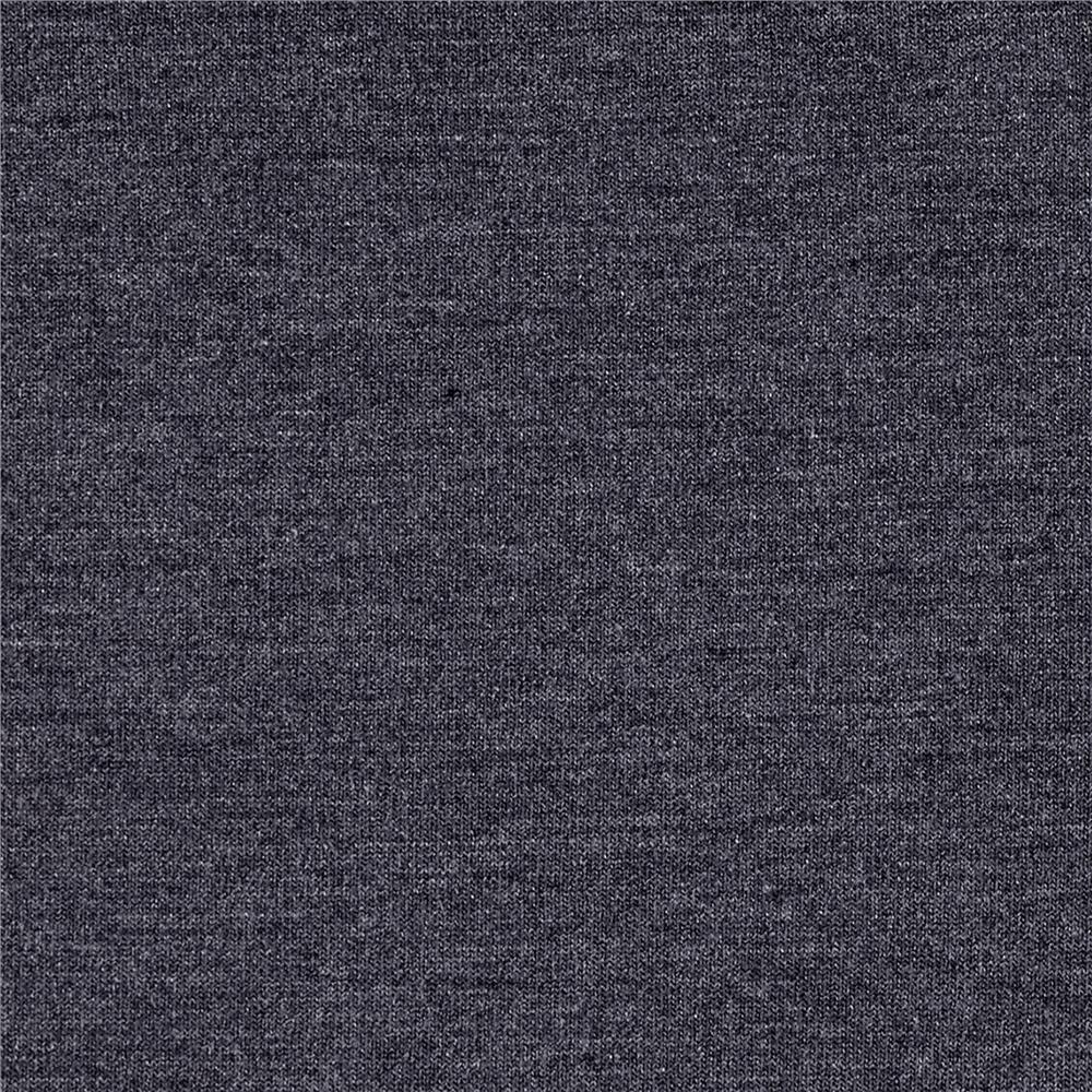 Telio Microbrushed Ponte Knit Dark Grey Melange Discount