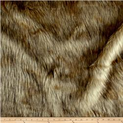 Shannon Golden Jackal Faux Fur Natural