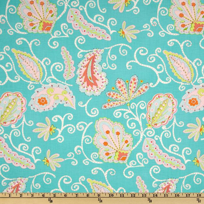 Pretty Little Things Madeleine Paisley Teal
