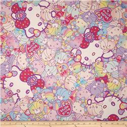 Hello Kitty Faces Pink/Purple/Multi