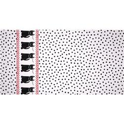 Michael Miller Cool Cats Cats & Dots White