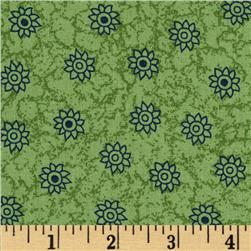 Oasis Small Flower Green