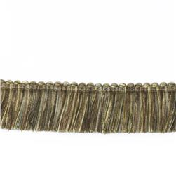 "Fabricut 1.5"" Escargot Brush Fringe Desert"