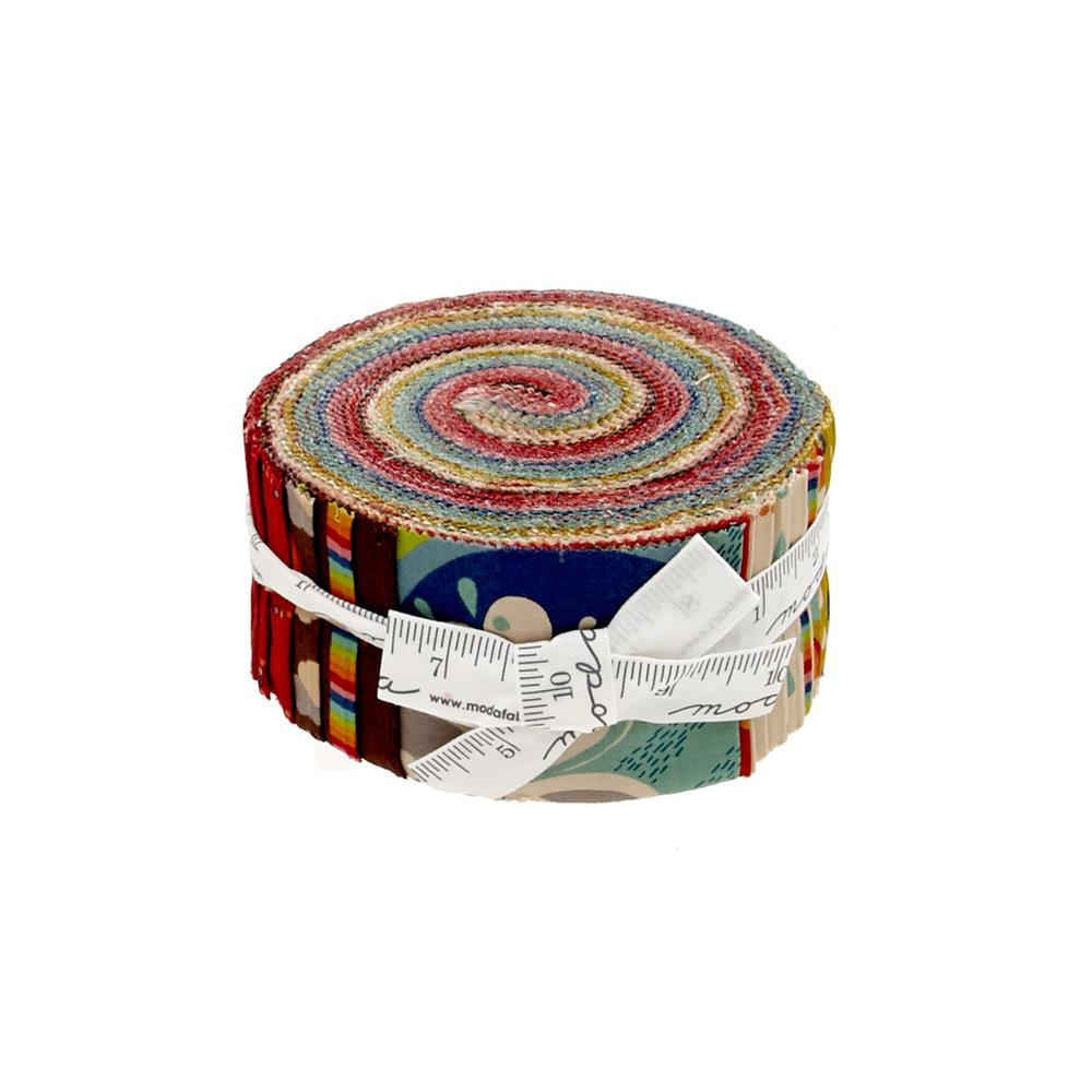 "Moda Flying Colors 2.5"" Jelly Roll"