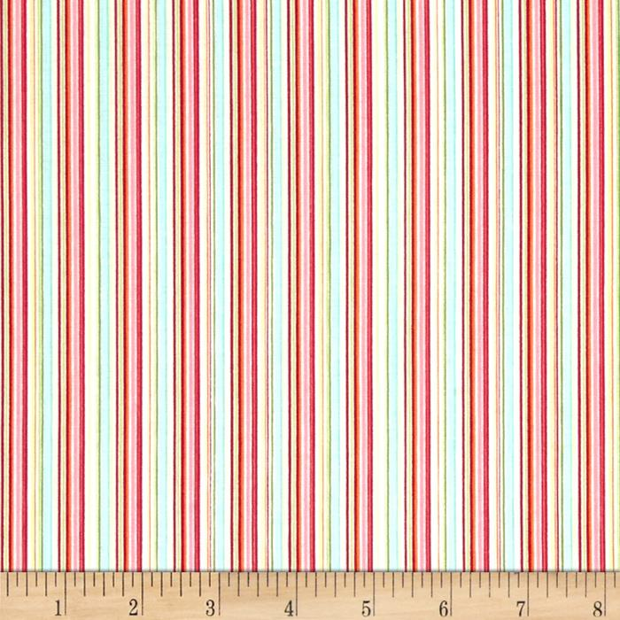 Timeless Treasures Sabrina Stripe Multi