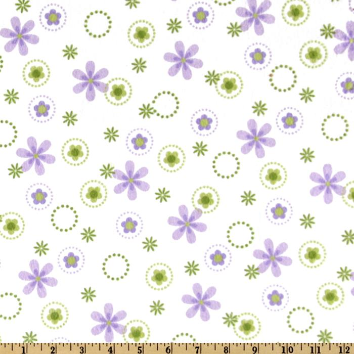 Cozy Cotton Flannel Floral Spring