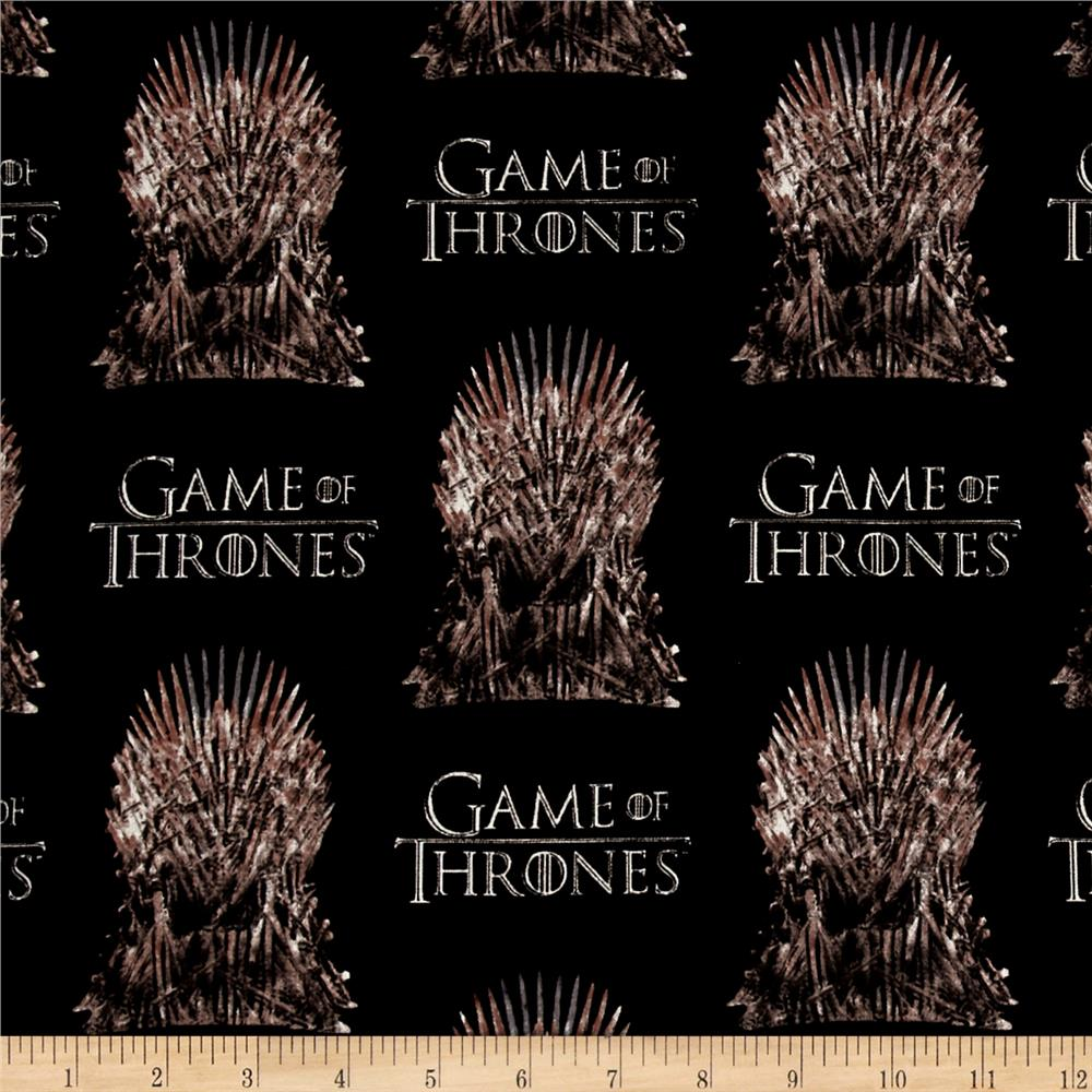 Hbo Game Of Thrones The Iron Throne Black Discount