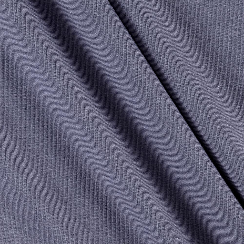 Telio rayon jersey knit grey discount designer fabric for Rayon fabric