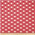 Riley Blake Home Décor Diamonds Red