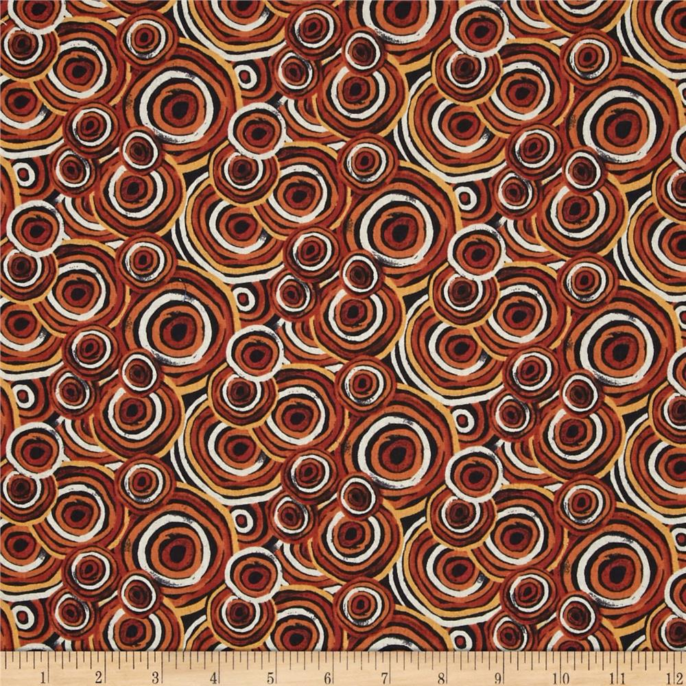 Sea Turtles Swirls Orange