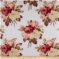 Tanya Whelan Home Décor Petal Large Antique Roses Blue