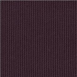 Cotton Thermal Knit Plum
