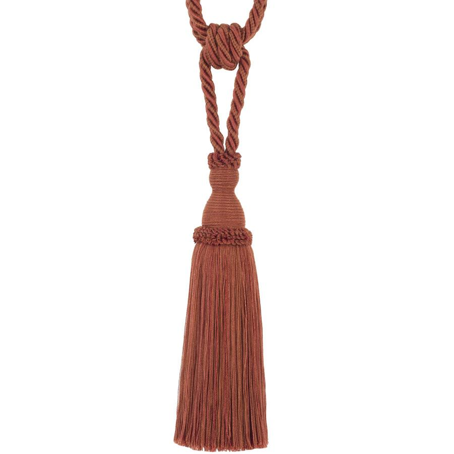 "Trend 29"" 02871 Single Tassel Tieback Brick"