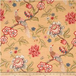Jaclyn Smith Anna Floral Blend Crimson