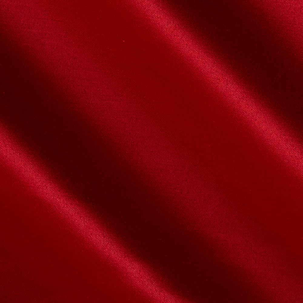 Toscana Stretch Satin Red Fabric