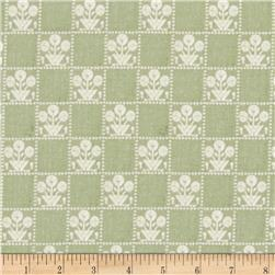 Tilly Gingham Green