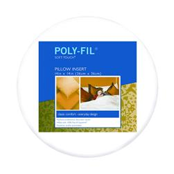 "Fairfield Soft Touch Supreme Poly-Fil Pillow 14"" Round"