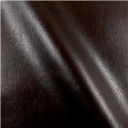 Faux Leather Caprice Brown Fabric