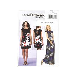 Butterick Misses'/Misses' Petite Dress Pattern B5456 Size BB0