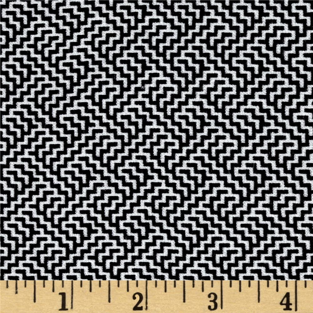 Telio bengaline jacquard abstract print black white for Jacquard fabric
