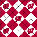 Collegiate Fleece University of Wisconsin Argyle