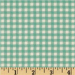 Moda April Showers Gingham Teal