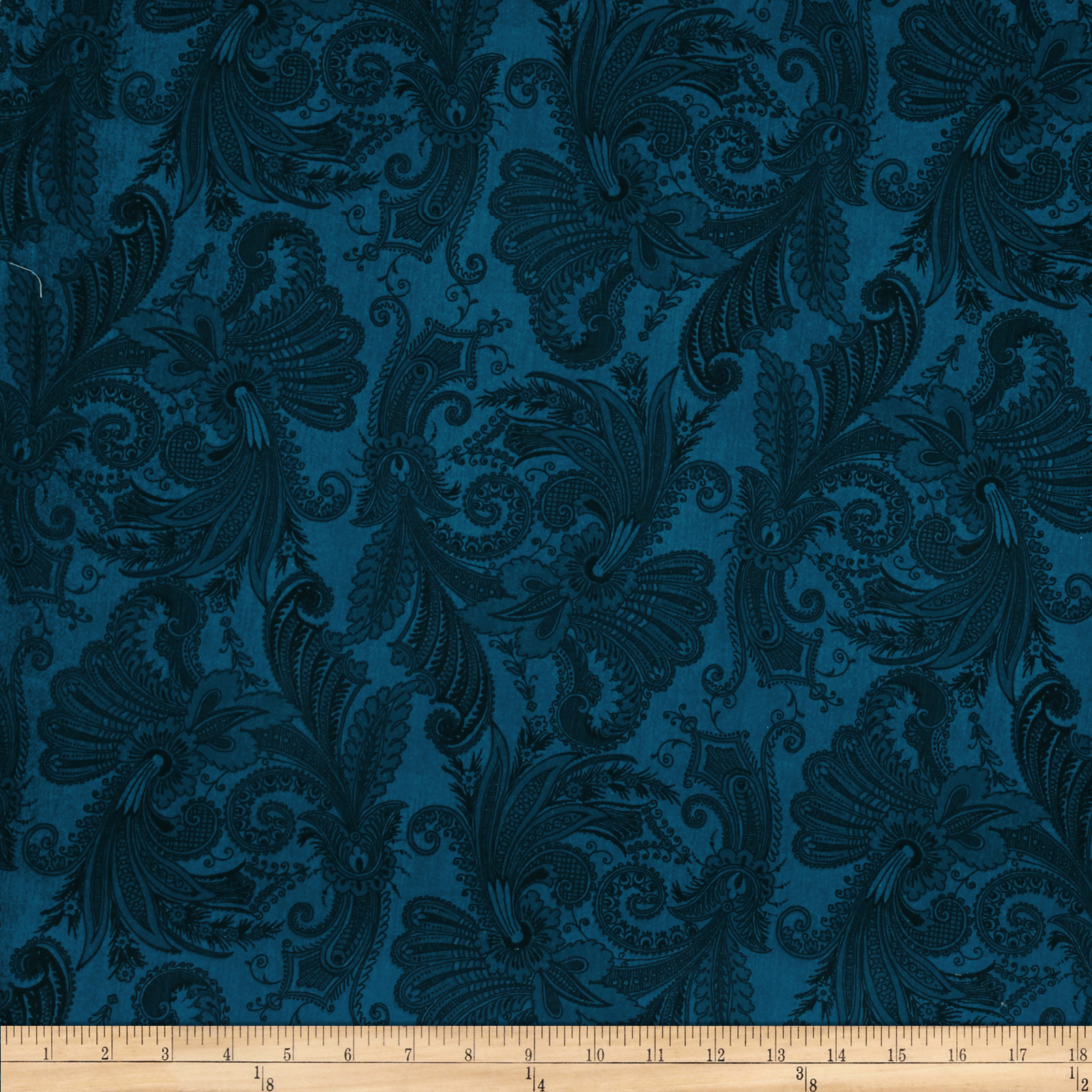 108'' Wide Essentials Quilt Backing Marrakesh Dark Blue
