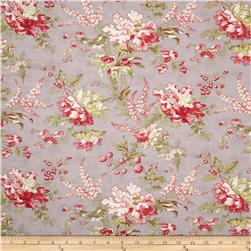 Moda Whitewashed Cottage Flourish Floral Heather