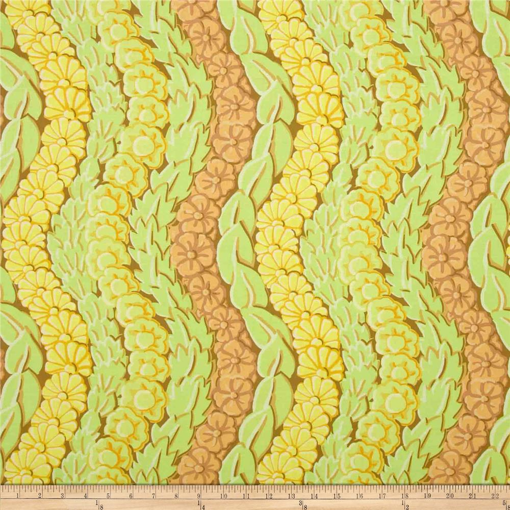 Kaffe Fassett Collective Serpentine Yellow