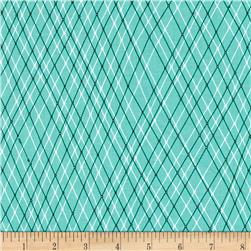 Ink & Arrow Mingle & Jingle Linear Argyle Med Wintergreen