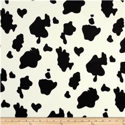 Animal Print Cow Black/White
