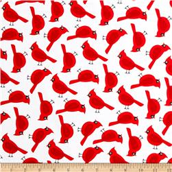 Kaufman Jingle 4 Cardinals White