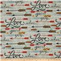 Southwest Love Arrows Gray