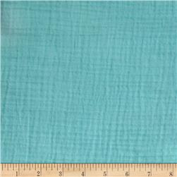 Heavy Cotton Gauze Aqua