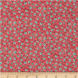 Maywood Studio Roam Sweet Home Ditsy Flowers Red