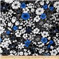 Midnight Contempo Floral Black