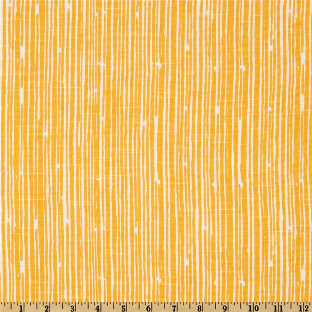Premier Prints Scribble Corn Yellow