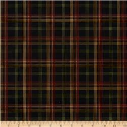 Elm Creek Quilts Plaid Black/Multi