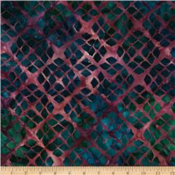 Artisan Batiks Gazebo Lattice Blocks Jewel