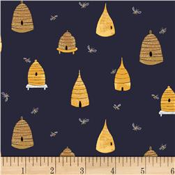 Dear Stella Honey Bee Bee Hives Navy