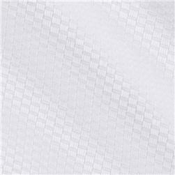 Kaufman Bird's Eye Pique White Fabric