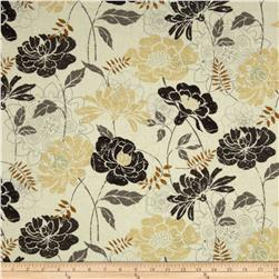 Twilight Blooms Large Floral Ivory